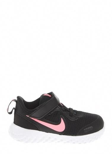 Nike Unisex Bebek Siyah Spor Ayakkabı BQ5673 - 002 NIKE REVOLUTION 5 (TDV) Siyah